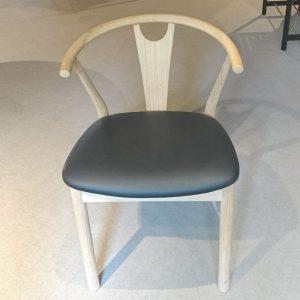 Model 600 Høffer stol – med lædersæde – spar 25 %