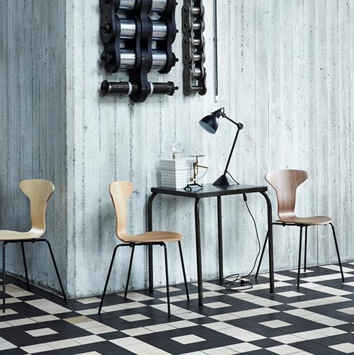 Myggen - Arne Jacobsen - Munkegaardstol