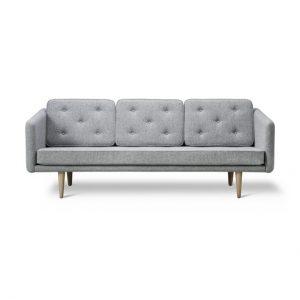 No 1 Sofa - Model 2003 - Udstillingsmodel - Hallingdal stof