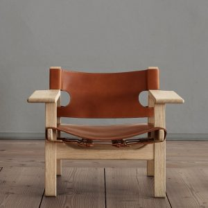 BM 2226 - Den spanske stol - Cognac - UDSALG