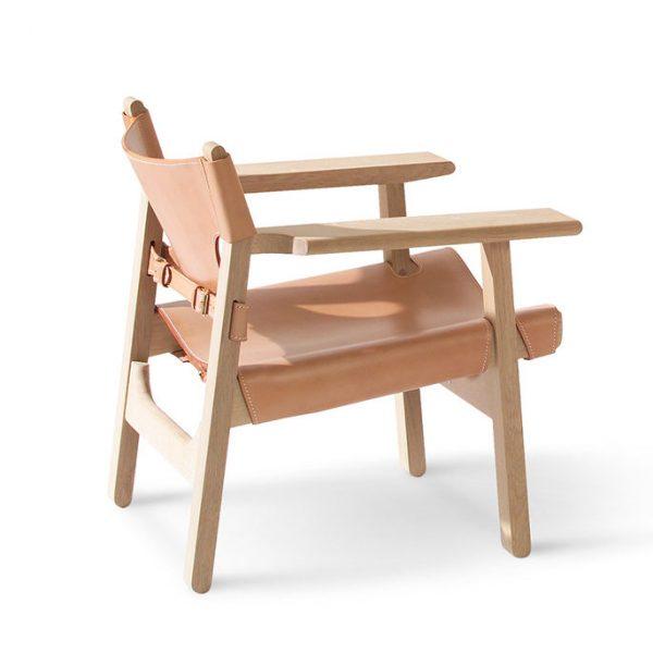 Den spanske stol Eg sæbe, natur læder