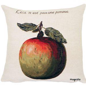 Poulin Design - Magritte - Ceci n´est pas une pomme - Pude 45x45
