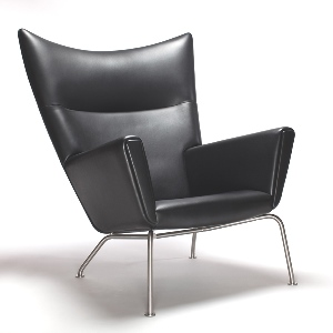 CH445 Wing Chair - Hans J. Wegner Hvilestol fra Carl Hansen