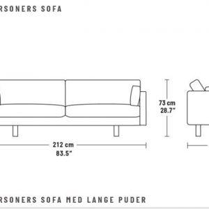 EJ 220 Sofa fra Erik Jørgensen