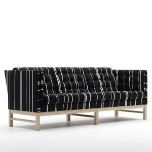 EJ315 Sofa – 3 pers. - Savak stof - Erik Jørgensen