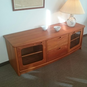 TV modul i teak - udstillingsmodel