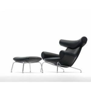 EJ100 Ox Chair med skammel til særpris