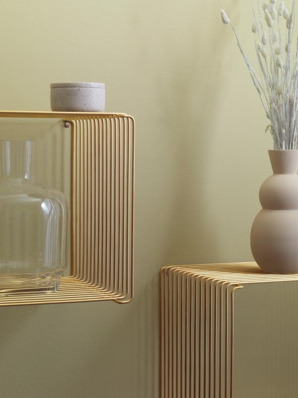 Panton Wire Cube - Matt Gold - Limited Edition
