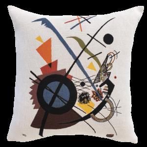 Poulin Design - Kandinsky - Violett - Pude 45x45