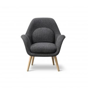 Swoon Lounge Petit Wood base - Fredericia