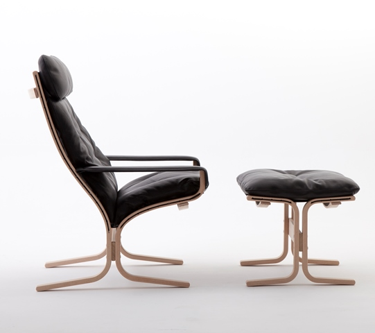Siesta Classic høj stol med skammel udsalg