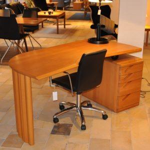 Skrivebord - Dampet bøg - Seltz - Udstillingsmodel