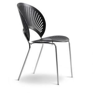 Trinidad stol - Gammel SH - 44 cm - sortlakeret askFredericia Furniture hos Juhls bolighus