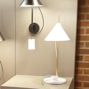 YUH Bordlampe messing/marmor - Louis Poulsen - Udstillingsmodel