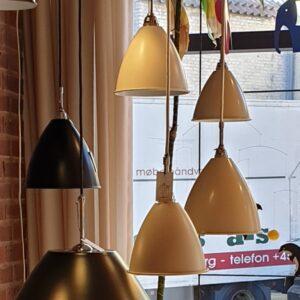 BL9 Pendel Ø16 krom/mat hvid - Gubi - Udstillingsmodel