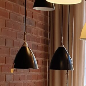 BL9 Pendel Ø16 krom/sort - Gubi - Udstillingsmodel