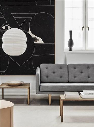 No. 1 - 3 personers sofa - Model 2003 Kampagne